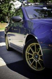 Subaru Impreza z boku